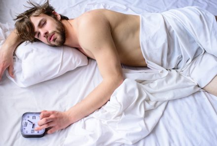 How to get out of bed when no one else is