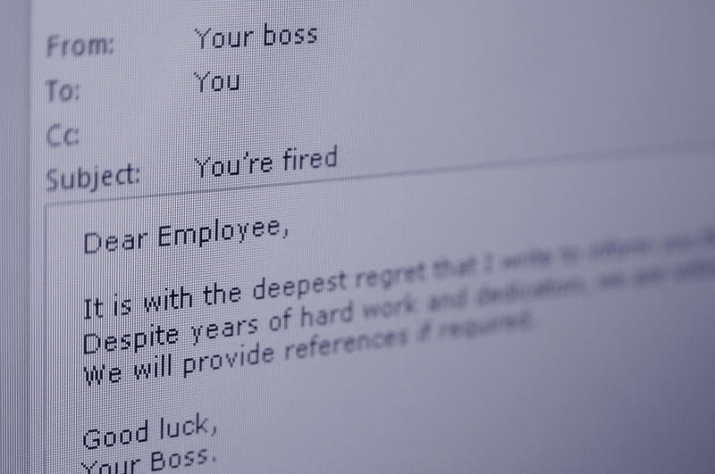 He lied in his interview. He's fired.